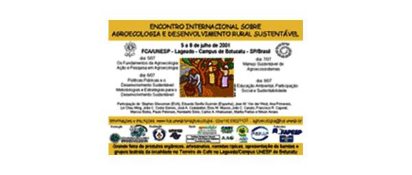 I Congresso Internacional sobre Agroecologia e Desenvolvimento Rural SustentávelESSA - Estratégia Socioambiental